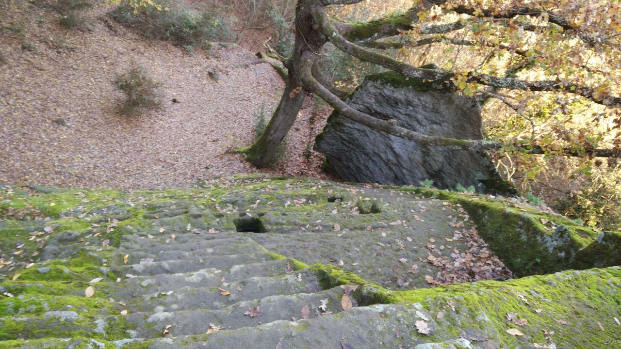 Bomarzo-Piramide-Megalitica-Cart-ruts-ripari-rupestri-Viterbo-Lazio-Italia-34