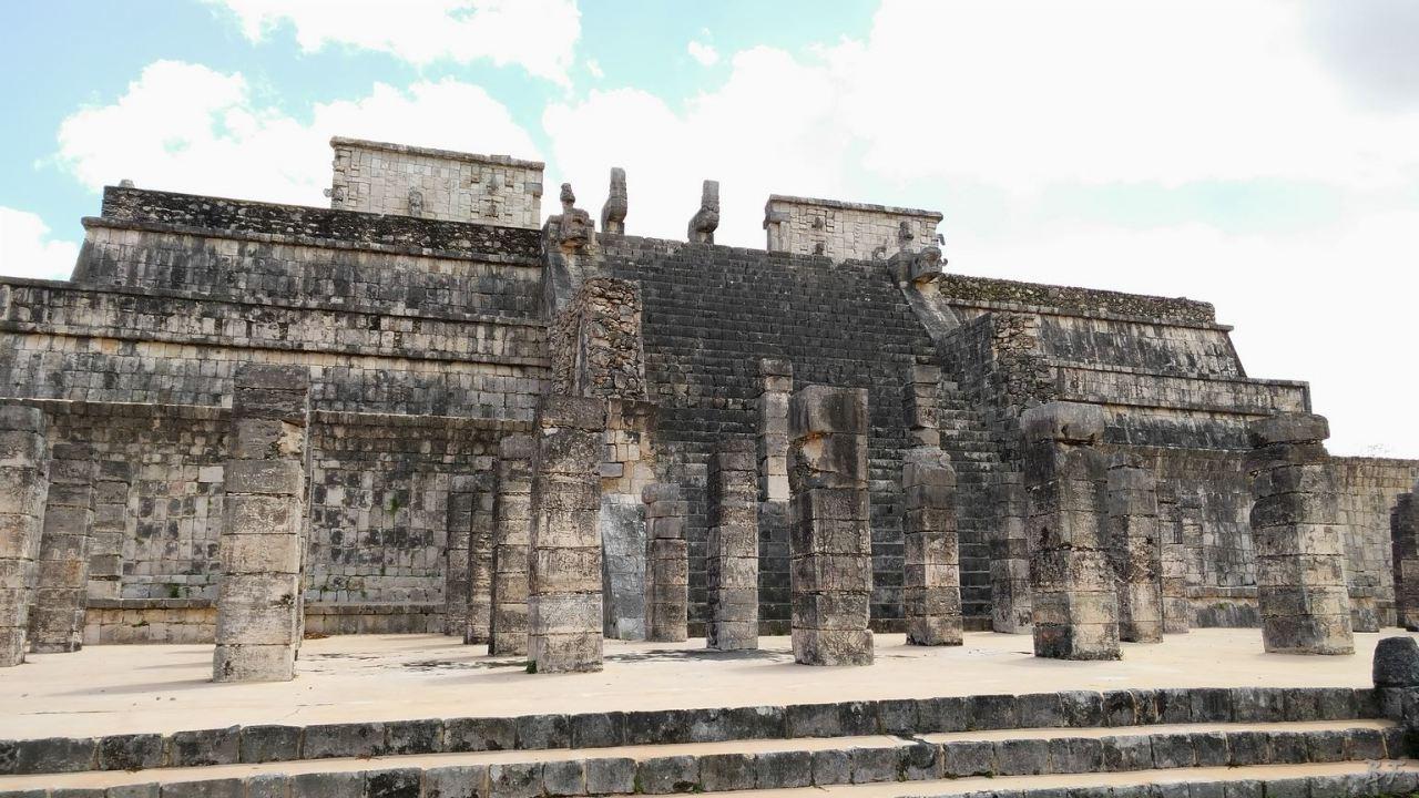 Sito-Megalitico-Maya-Chichen-Itza-Yucatan-Messico-87
