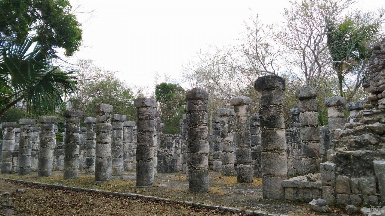 Sito-Megalitico-Maya-Chichen-Itza-Yucatan-Messico-89