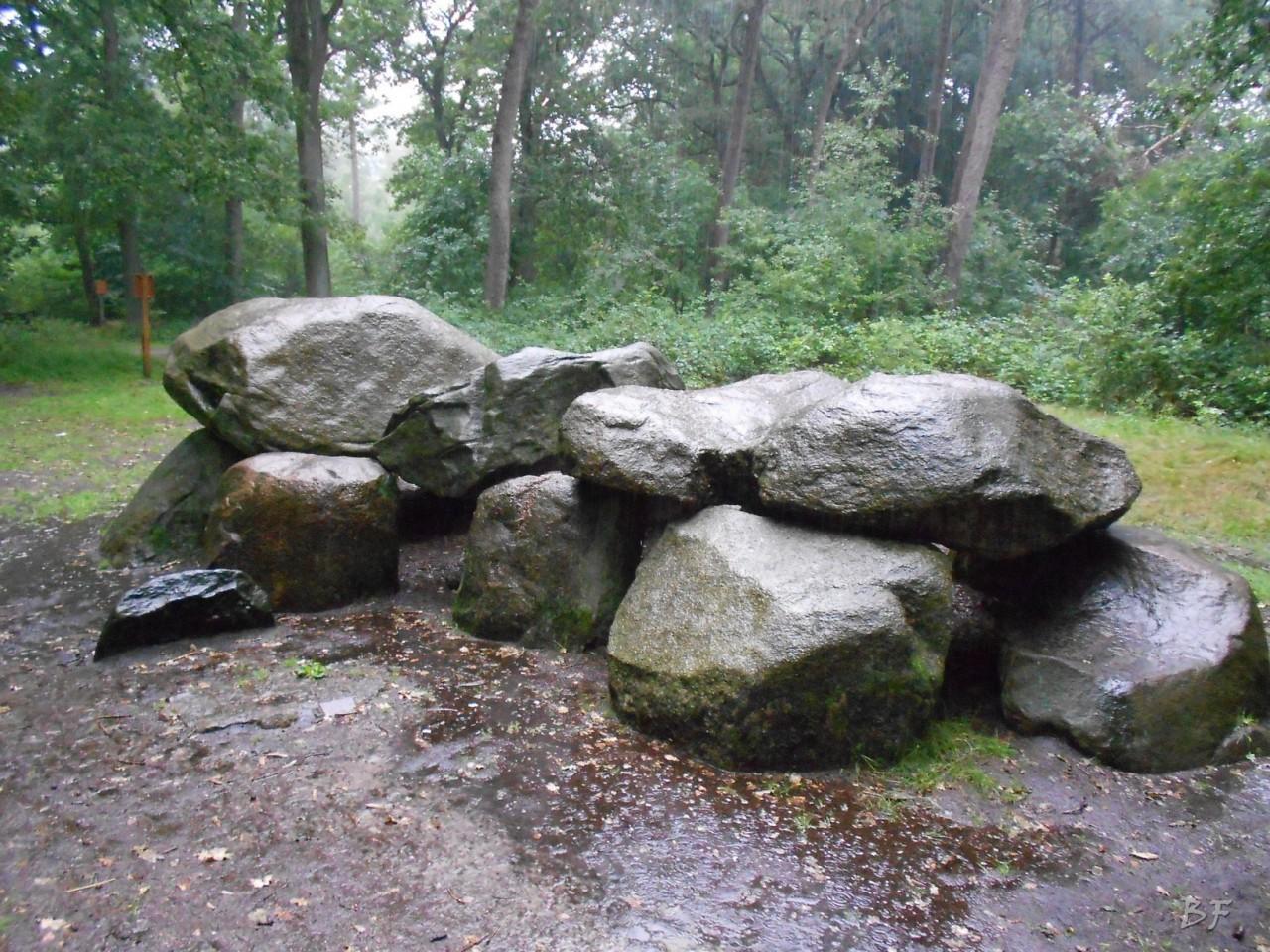 Hunebedden-Dolmen-Megaliti-Groeningen-Drenthe-Paesi-Bassi-21