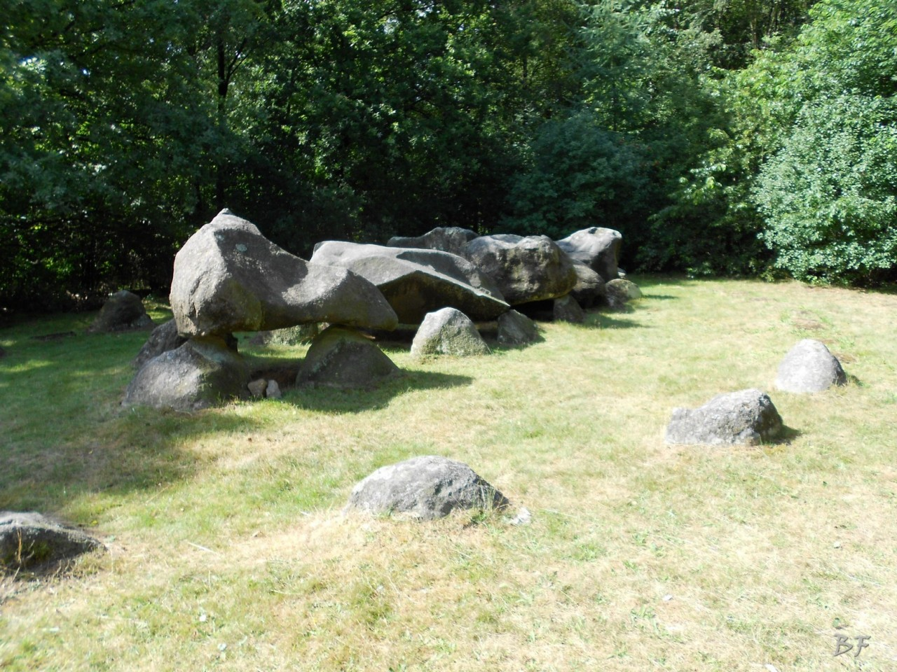 Hunebedden-Dolmen-Megaliti-Groeningen-Drenthe-Paesi-Bassi-48