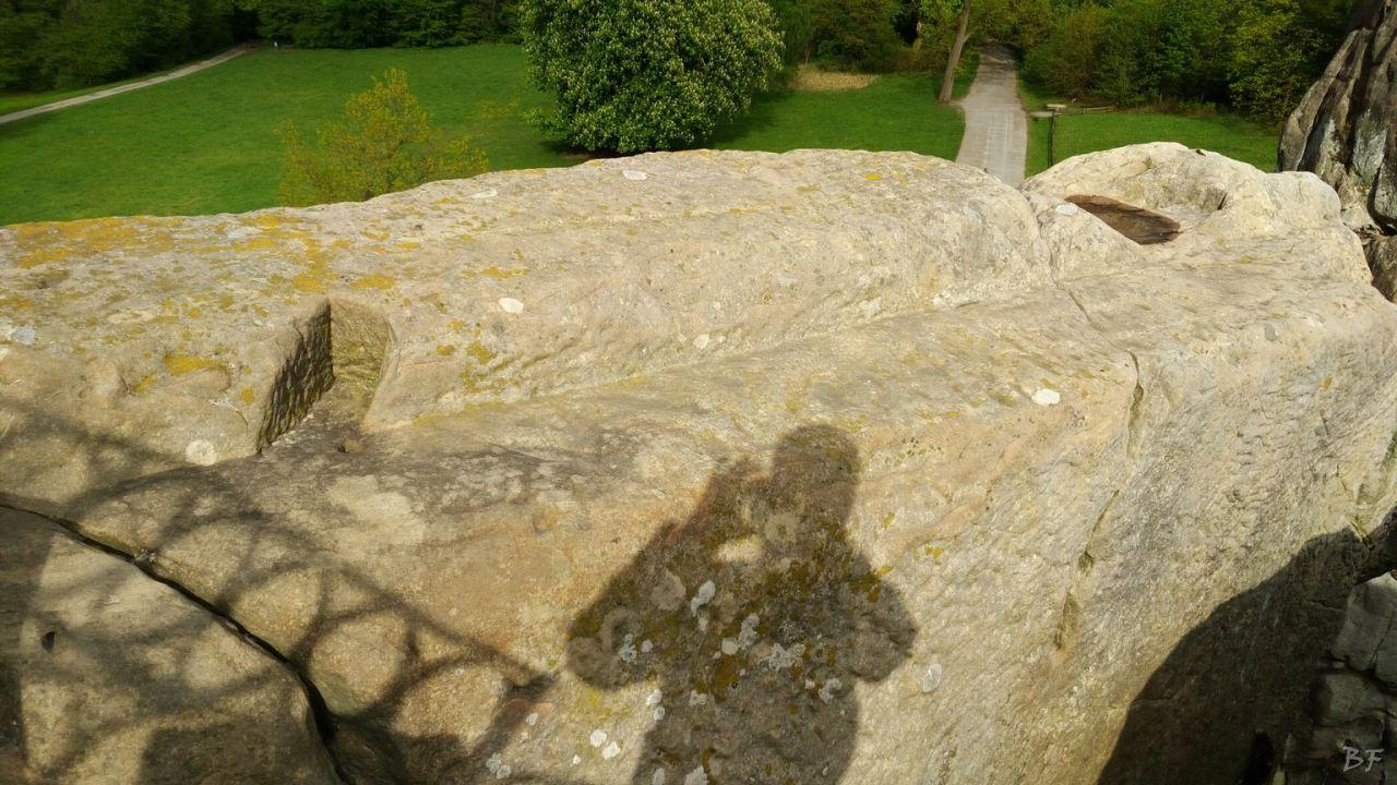 Externsteine-Insediamento-Rupestre-Megaliti-Nord-Renania-Vestfalia-Germania-5