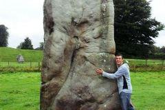 frAnk-e-Menhir-di-Avebury-Wiltshire-Regno-Unito-Gran-Bretagna